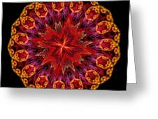 Mandala Of Love Greeting Card