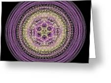 Mandala Of Wisdom Greeting Card