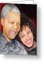 Mandela And Whitney Greeting Card
