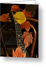 Mandolin Autumn 1 Greeting Card