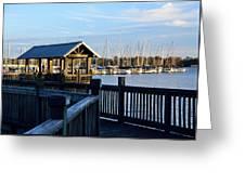 Mandarin Park Boathouse Greeting Card