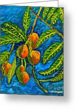 Mangoes Delight Greeting Card