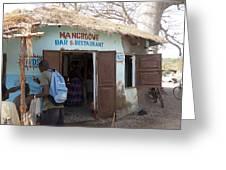 Mangrove Bar And Restaurant Greeting Card