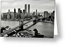 Manhattan 1978 Greeting Card