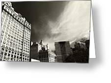 Manhattan Contrast Greeting Card