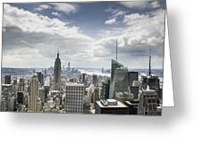 Manhattan II Greeting Card
