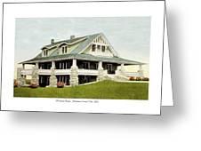 Manhattan Kansas - Manhattan Country Club - 1920 Greeting Card