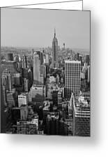 Manhattan Nyc Greeting Card