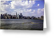 Manhattan On My Mind Greeting Card