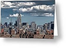 Manhattan-skyline Greeting Card