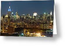 Manhattan Skyline, New York City, New Greeting Card
