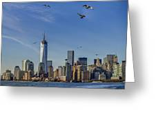 Manhattan South Greeting Card