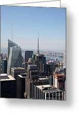Manhattan View 2012 Greeting Card