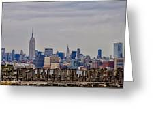 Manhattan View Greeting Card