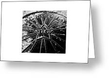 Manhole_11.04.12 Greeting Card