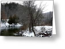 Manistee River Greeting Card