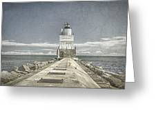 Manitowoc Breakwater Lighthouse II Greeting Card