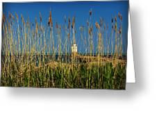 Manitowoc Breakwater Lighthouse Manitowoc Wi Greeting Card