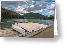 Manning Parks Lightning Lake Greeting Card