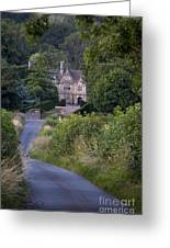 Manor House - Cotswolds Greeting Card