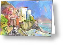 Manorola In Italy 05 Greeting Card