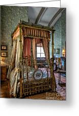 Mansion Bedroom Greeting Card