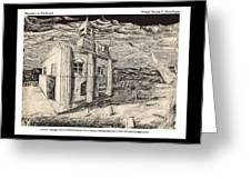 Mansion In Darkness Greeting Card