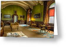 Mansion Lounge Greeting Card