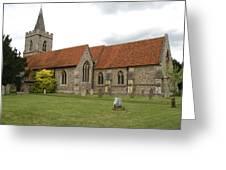 Manuden Church Greeting Card