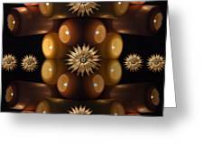 Many Lit Candles Greeting Card