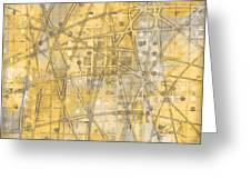 Map Of Secrets  Greeting Card
