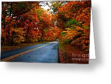 Maple Road Greeting Card