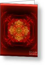 Mapping The Soul - Spiritual Abstract Art By Giada Rossi Greeting Card