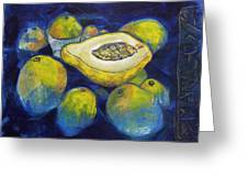Maracuya/passion Fruit Greeting Card