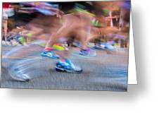 Marathon Greeting Card
