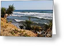Marbella Beach Greeting Card