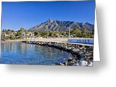 Marbella Holiday Resort In Spain Greeting Card