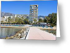 Marbella Resort In Spain Greeting Card
