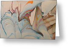 Marble 24 Greeting Card by Mike Breau