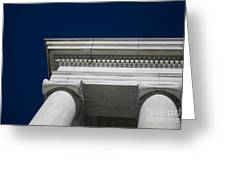 Marble Architecture Greeting Card