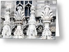 Marble Facade II Duomo Di Milano Italia Greeting Card