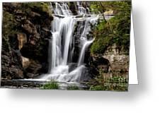 Marble Falls Waterfall 3 Greeting Card