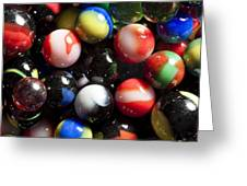 Marble King Marbles 1 Greeting Card