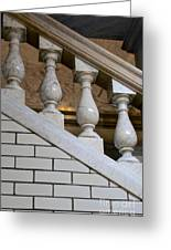Marble Staircase Greeting Card