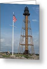 Marblehead Light Tower Greeting Card
