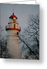 Marblehead Lighthouse On Lake Erie  Greeting Card