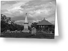 Marblehead Old Burial Hill Cemetery Greeting Card