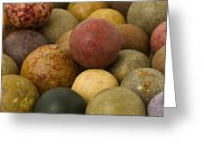 Marbles Clay 2 Greeting Card
