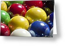 Marbles Mega Pearl 1 Greeting Card