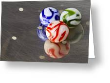 Marbles Strainer 2 Greeting Card